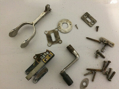Western Electric Switch, Hook, Crank Handle + Other Original Parts