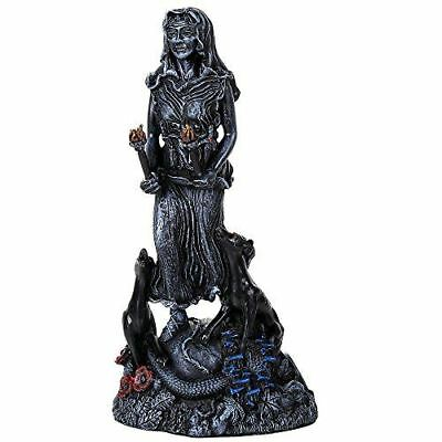 """Hecate Goddess Figurine Designed by Oberon Zell 9.5"""" Tall Magic And Sorcery"""