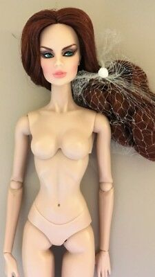 Fashion Royalty Vanessa Adorned Nude Doll Only 2014 GLOSS Exclusive