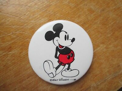 Cute Vintage Classic Mickey Mouse Pinback Button Copyright Walt Disney L@@K!