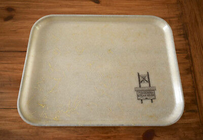 Vintage 60s Ponderosa Steakhouse Fiberglass SiLite Restaurant Serving Tray