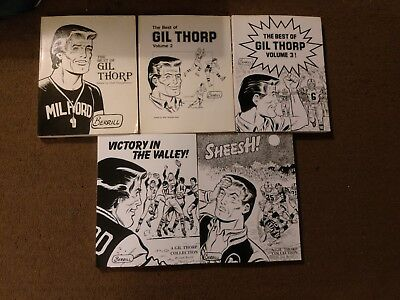 Gil Thorp books: The Best of Vol. 1, 2, & 3, Sheesh!, andVictory in the Valley!