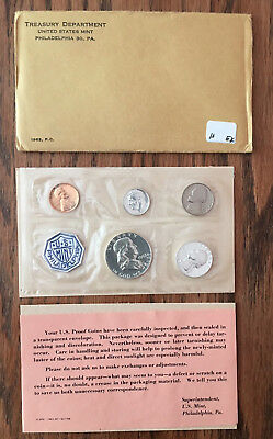 1963 P United States Mint Proof Set - All Mint Packaging - Silver