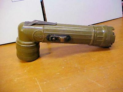 Vintage Electric Flashlight US Military Issue Vietnam Era GT Price MX-991/U