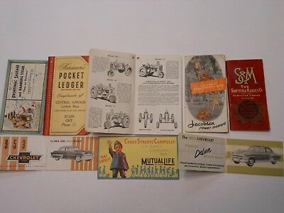Various Auto Related Printed Material See Photos