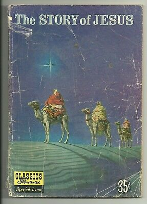 The Story of Jesus, Classics Illustrated Special Issue, 129,  1955