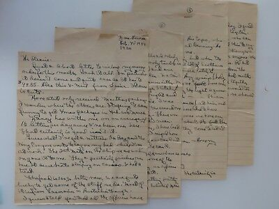 WWII Letter New Guinea Bombs Dropping WW2 Many Battle Stars Pittsfield MA #7902