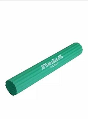 Green Flexbar Theraband Physical Occupational Therapy Wrist Forearm Strength