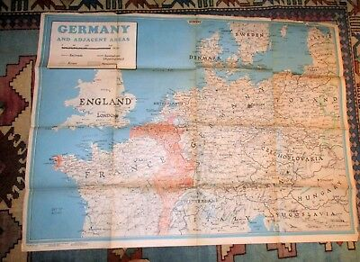 June 1944 WWII Newsmap News Map for the armed forces map of Europe
