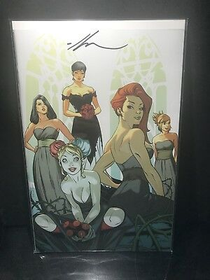 Batman 50 Ale Garza SIGNED! VIRGIN Bridesmaids variant EXTREMELY Limited! NM!!!