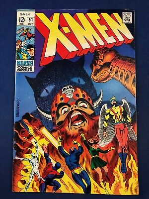X-Men #51 (1968 Marvel Comics) Silver Age NO RESERVE