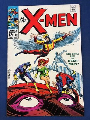 X-Men #49 (1968 Marvel Comics) 1st appearance of Lorna Dane (Polaris) NO RESERVE