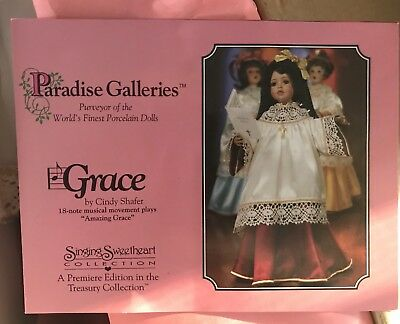 """Treasury Collection Porcelain Doll Paradise Galleries """"GRACE! New"""