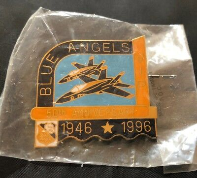 Blue Angels VIP Pin 50th Anniversary 1946-1996