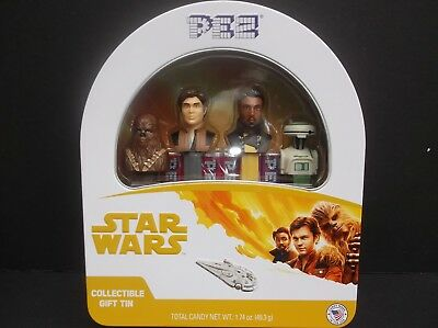 Star Wars Pez Han Solo Gift Tin,  new in Spring of 2018