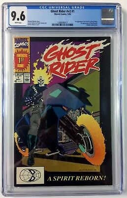Ghost Rider #1 CGC 9.6 Unread From Personal Collection