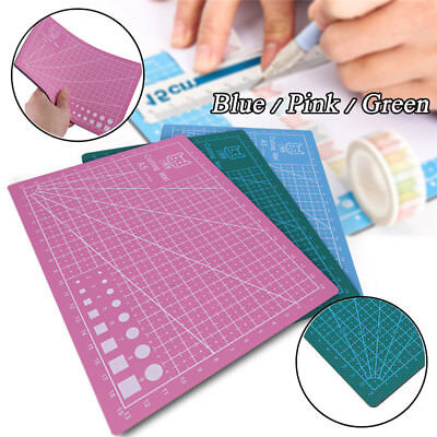KD_ A5 Durable One Sided Cutting Mat Self Healing Non Slip Board Pad Tool Eyef