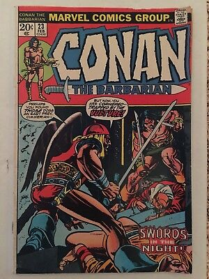 Conan the Barbarian #23 (1972).  First Appearance of Red Sonja!