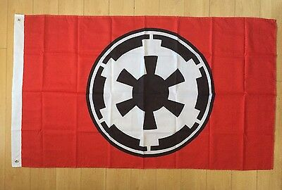 Galactic Empire Star Wars Red 3x5 ft Flag Banner