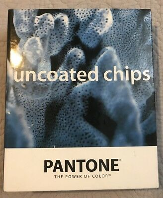 Pantone Solid Chip Book UNCOATED Color Matching System Used