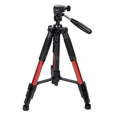 Zomei Q111 Professional Aluminum Tripod Panhead for Canon Nikon DSLR Camera Red
