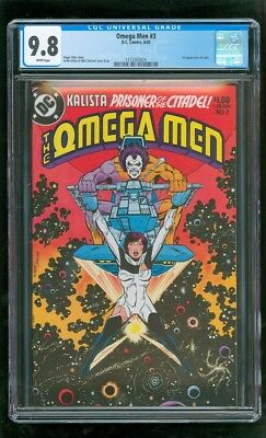 Cgc 9.8 Omega Men #3 D.c. Comics 6/1983 First Appearance Of Lobo (Moving Coming