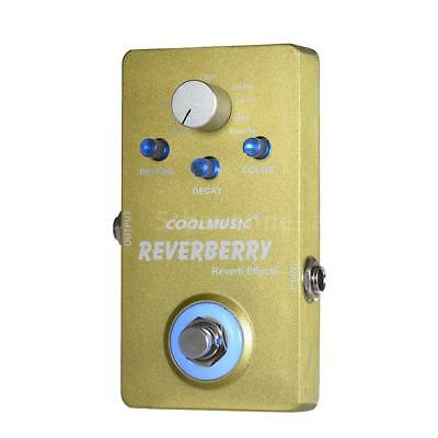 Electric Guitar Digital Reverb Effect Pedal with 9 Reverb Effects True K3N1