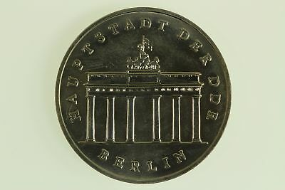 DDR, 5 Mark Brandenburger Tor, 1987, Stempelglanz / Bu - 801088