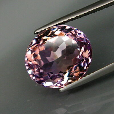 9.00Ct.Real! 100%Natural Purple&Golden Bolivia Ametrine Full Sparkling!