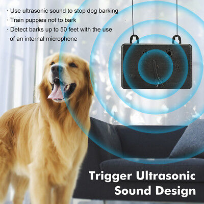 Anti Barking Device Ultrasonic Dog Bark Control Sonic Deterrents Silencer Tools