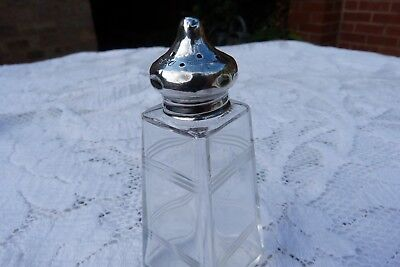George V Silver Toilet Vanity Dressing Table Bottle Jar Possibly William Comyns