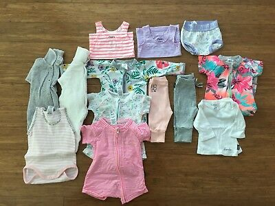 Baby Girl Bonds Clothes 000 Bundle