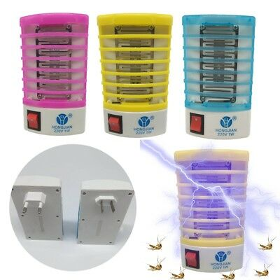 NEW Electric Mosquito Killer Bug Zapper Catcher Pest Insect Trap Lamp Light UK