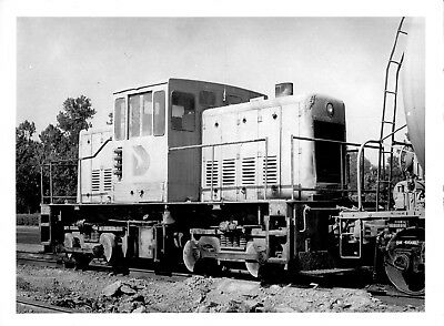 1978 Dundee Cement Co Train GE 50T Engine 5x7 Photo X2200S MO M