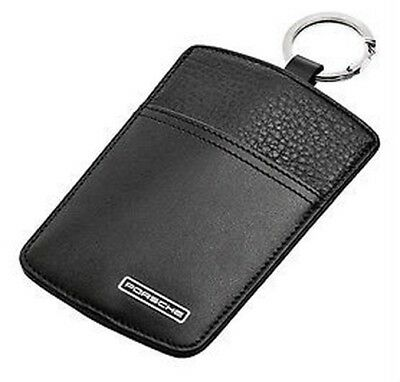 New Genuine Porsche Leather Sport Classic Key Pouch Ideal Christmas Present Box