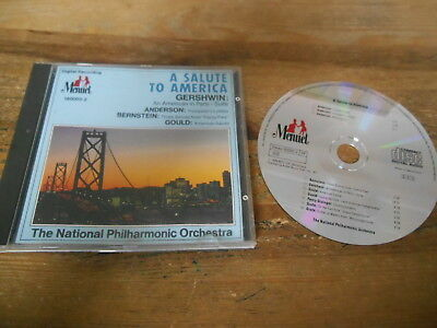 CD Klassik National Phil Orch - Gershwin : A Salute To America (10 Song) MENUET
