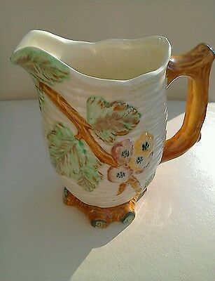 Antique Shorter & Son Staffordshire Hand Painted Jug