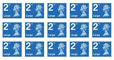 200 X 2nd Class Large letter stamps - Limited volume at 60p Face Value is 79p