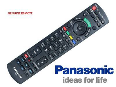 GENUINE Panasonic Remote Control For TV N2QAYB000747 TH-P50UT50A TH-P65UT50A