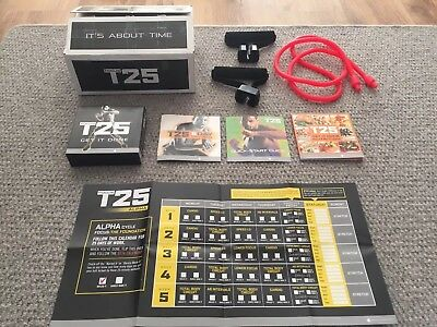 BRAND NEW T25 Focus Alpha and Beta 10 disc workout dvd