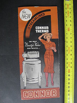 Connor Thermo Washing Machine Brochure