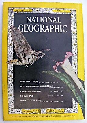 NATIONAL GEOGRAPHIC June 1965 Wales Saigon Alaska's Marine Highway Cape Henlopen