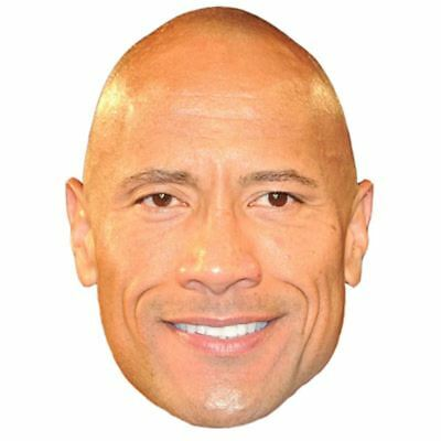 "Dwayne ""The Rock"" Johnson Maske aus Pappe"