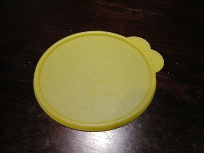 """Tupperware Replacement """"C"""" Lid Seal Yellow Double Tab 2541A"""