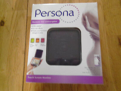 PERSONA Hormone free Contraception touch screen Monitor Test Kit Brand New