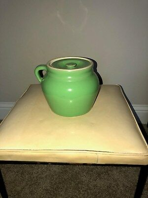 Hall Bean pot Lettuce green