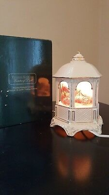 Thomas Kinkade musical Ceramic Gazebo and Light