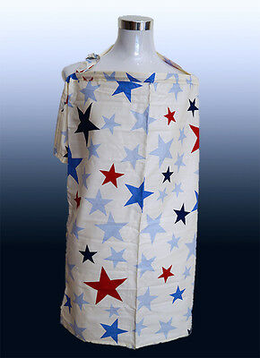 Brand New Breastfeeding Nursing Cover with Matching Bag. (Star)