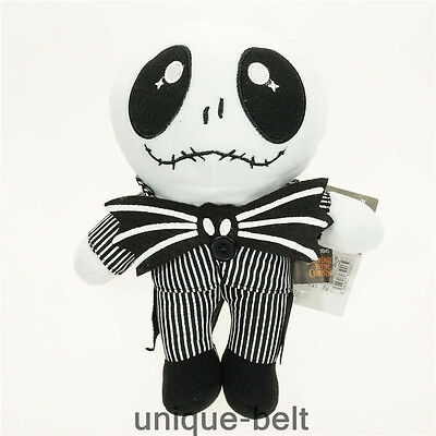 The Nightmare Before Christmas Jack Skellington Soft Stuffed Plush doll toy  10""