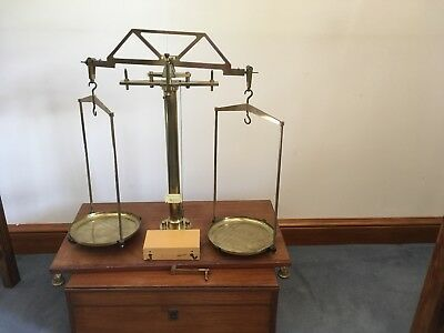 Vintage Scientific Scales Baird And Tatlock